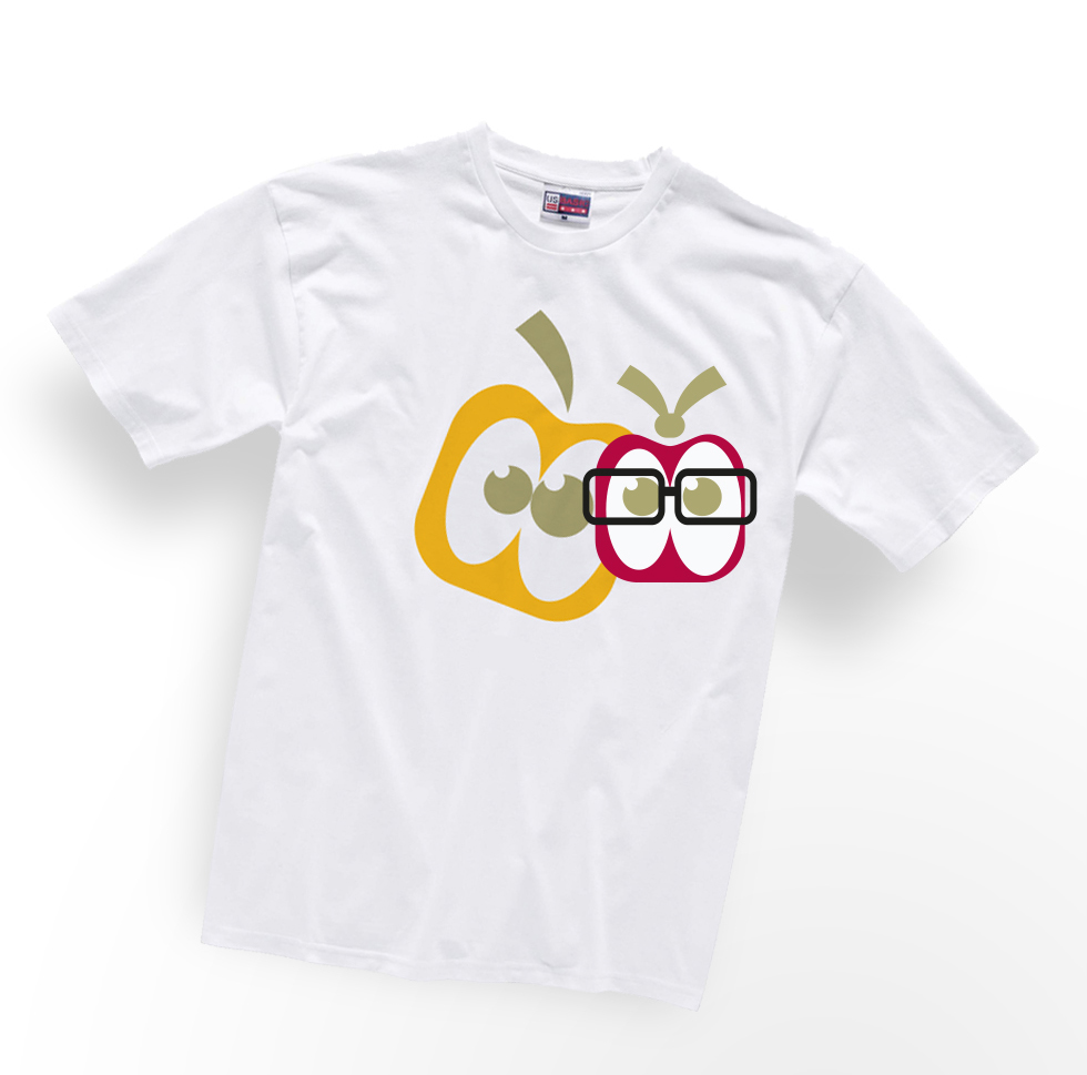 dizajn majice jabukići