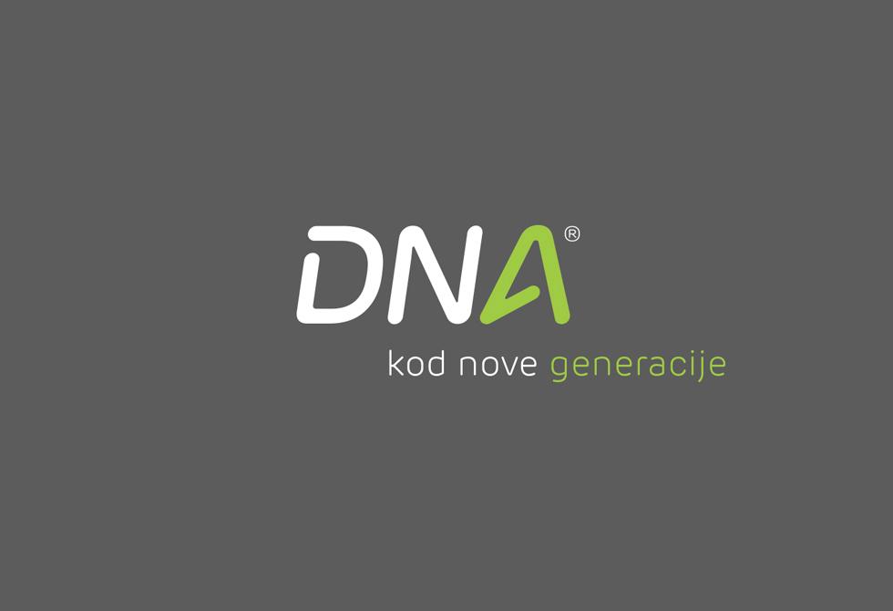 dizajn logotipa DNA