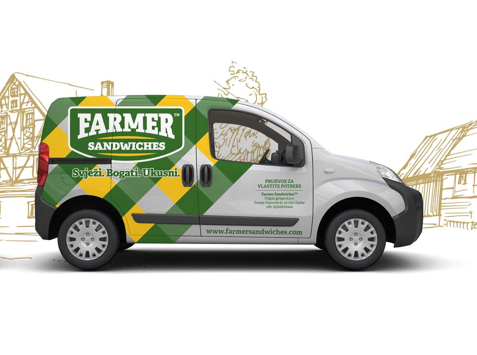 brendiranje vozila farmer