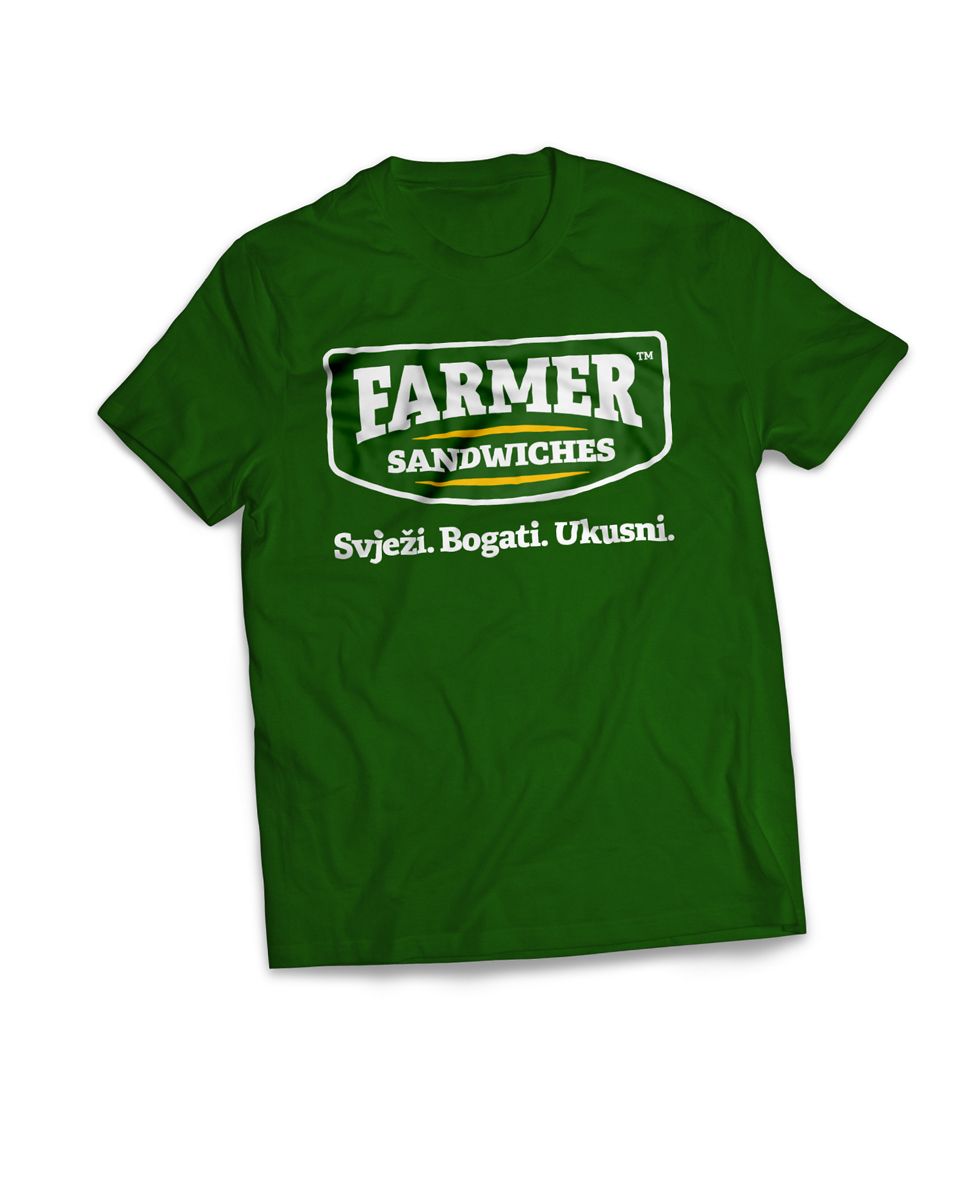 dizajn majice za fast food