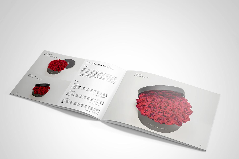 Dizajn brošure Blossom