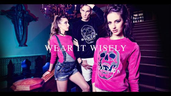Branding modne odjeće buryen