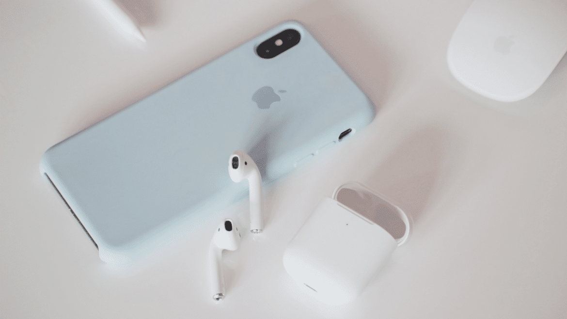 blue iphone