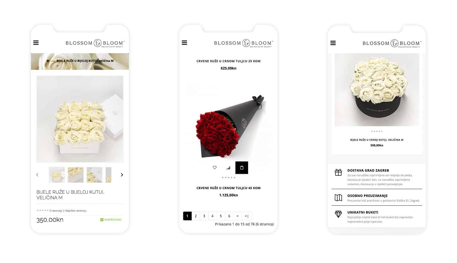 mobilni web shop