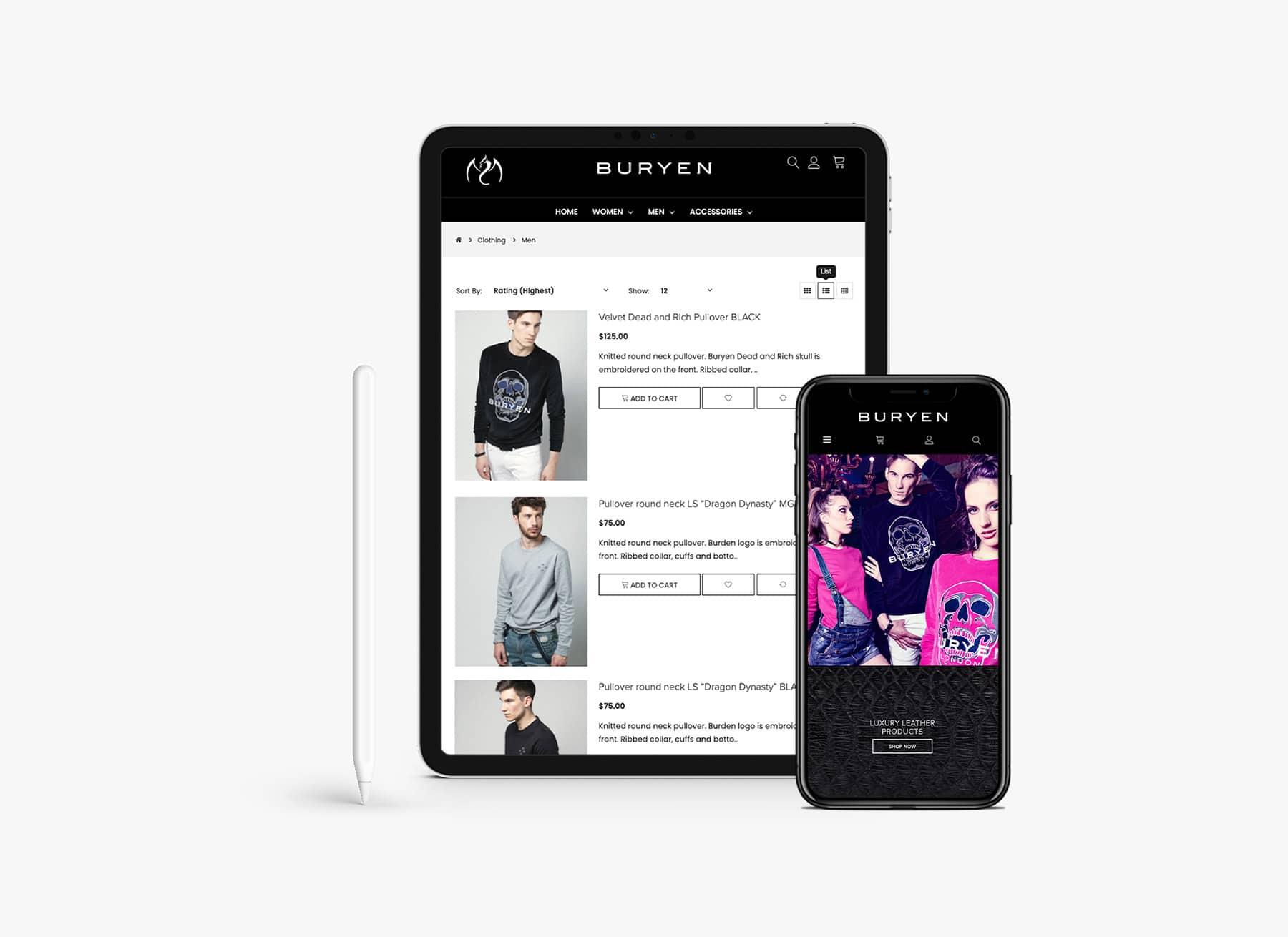responzivni web shop